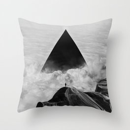 We never had it anyway Throw Pillow