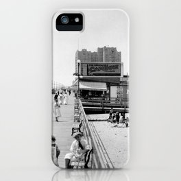 Atlantic City Boardwalk 1920, Apollo Theatre, Mitzi iPhone Case