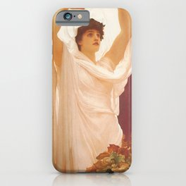 Frederic Leighton - Invocation iPhone Case