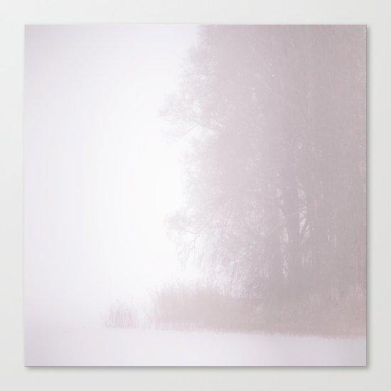Misty Atmosphere Canvas Print
