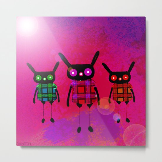 Creatures without names Metal Print