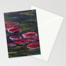 Wild Wood Mushrooms Stationery Cards