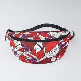 Retro . Bright colorful pattern . Fanny Pack