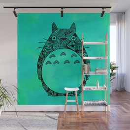 Forest Spirit Zentangle in Color! Wall Mural
