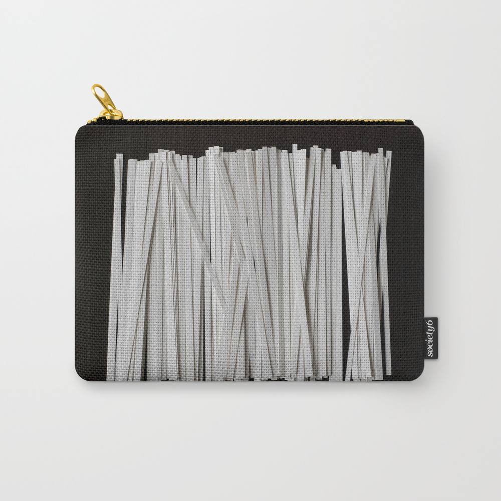 Trimming The Guest List Carry-all Pouch by Marivicpinedo CAP8053941