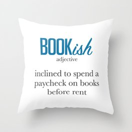 Stacks On Stacks Of Books Throw Pillow