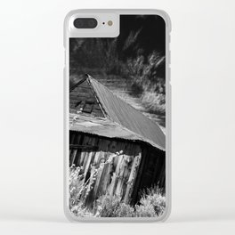 Bodie ghost town house Clear iPhone Case