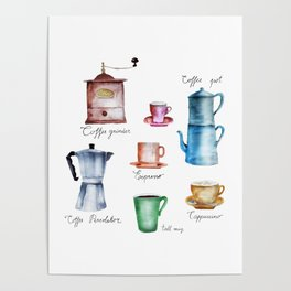 Coffee Time! Poster