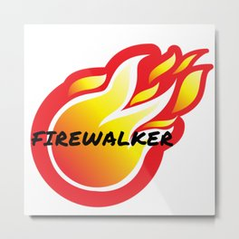 Tony Robbins Motivation - Firewalkers Metal Print