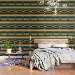 """Retro Lines"" Wallpaper"