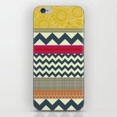 New York Beauty stripe iPhone & iPod Skin