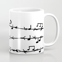 Barbed Wire Stave Coffee Mug