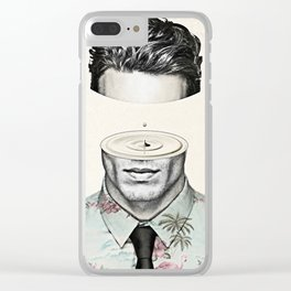 Head Space Clear iPhone Case