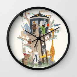 little playhouse Wall Clock