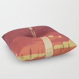 Atomic Sky Floor Pillow