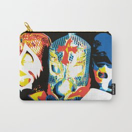 Luchadores! Carry-All Pouch