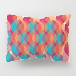 Ogee orgy cream Pillow Sham