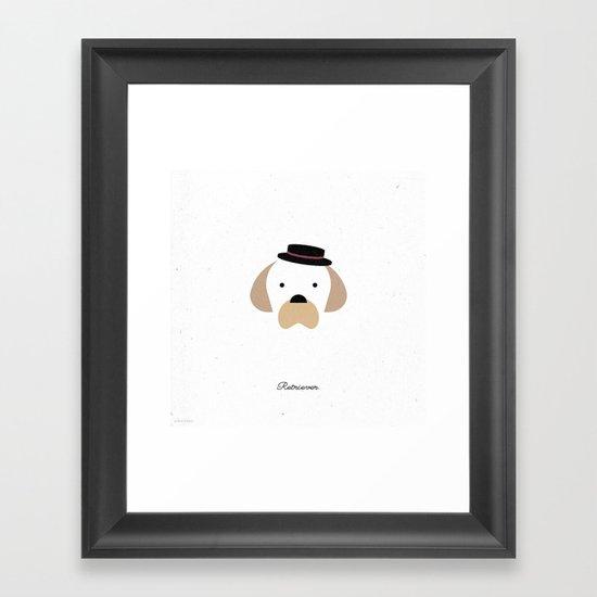 Pedigree: Retriever Framed Art Print