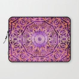 Mandala Pink Night Laptop Sleeve