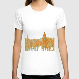 Annapolis, Maryland Skyline SG - Rust T-shirt