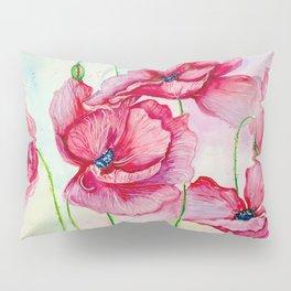 Poppies dance Pillow Sham