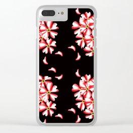 Botanical species,verbena hybrida Clear iPhone Case