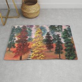 Autumn's Forest Rug