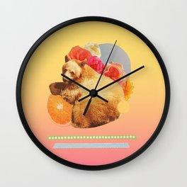 in the warm july sun Wall Clock