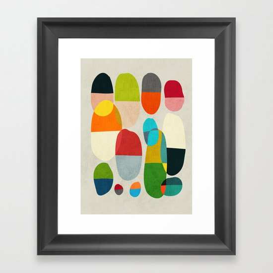 Jagged little pills Framed Art Print