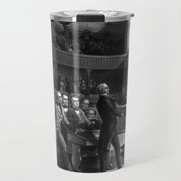 Henry Clay Speaking In The Senate Travel Mug