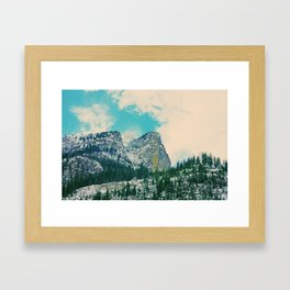 Swiss Mountain 2 Framed Art Print