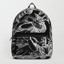 Angels | Cherubs | Vintage | Gothic | Subculture Backpack