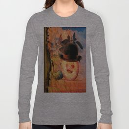 Monsieur Bone dans la pomme  Long Sleeve T-shirt