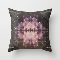 Explosive field Throw Pillow