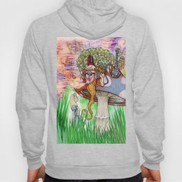 Alice and the Caterpillar Hoody