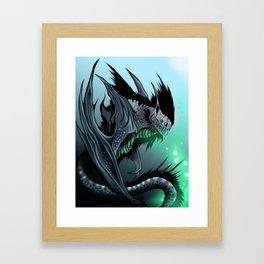 Strange beast: Battyrna Framed Art Print