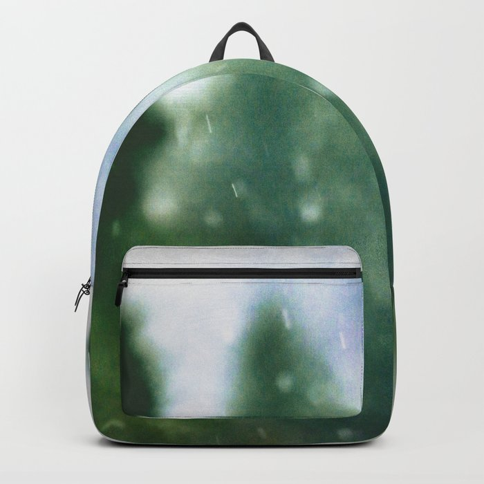 Winter Forest Flurries Backpack