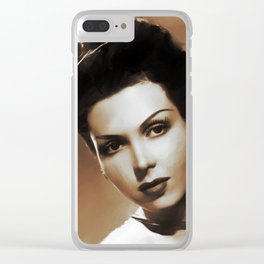 Hollywood Legends, Ann Miller, Actress Clear iPhone Case