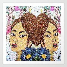 Twinsblur Art Print