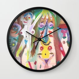 Orgy Wall Clock