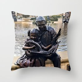 When Storybooks Come to Life Throw Pillow