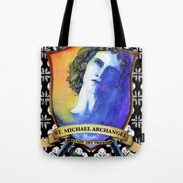 St. Michael, Archangel Tote Bag