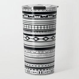 Boho Aztec Inspired Pattern Travel Mug