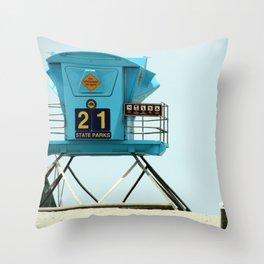 21 Throw Pillow