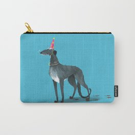 Party Animal : Scottish Deerhound Carry-All Pouch
