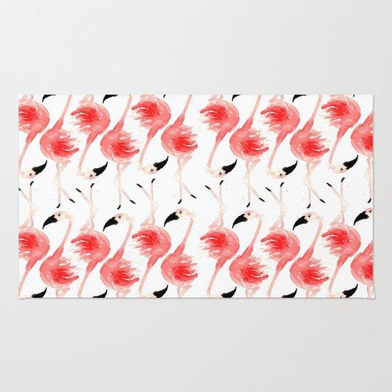 Flamingos! Rug