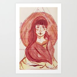 Pink::. Art Print