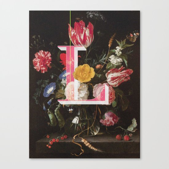 Letter L Canvas Print