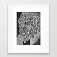 wild things Framed Art Prints featuring Wild Things by Georgiana Paraschiv