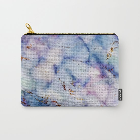Marble Effect #6 Carry-All Pouch